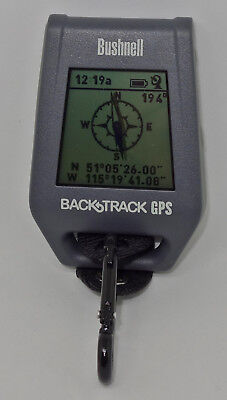Bushnell Backtrack Point-5 Personal GPS Locator *Excellent Working Condition*
