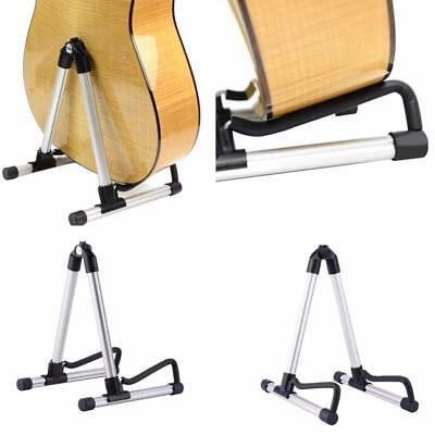 Guitar Stand Universal Folding A-Frame Acoustic Electric Guitars Floor Holder