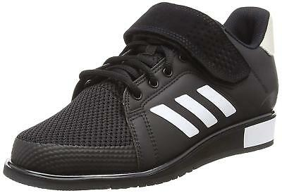adidas Mens Power Perfect III Weightlifting Shoes Black Trainers