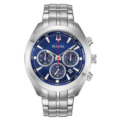 Bulova High Frequency Sport Stainless Steel Men's Watch ** FREE SHIPPING **