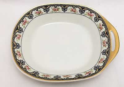 Theodore Haviland Limoges france  Serving Bowl  Side Dish With Handle