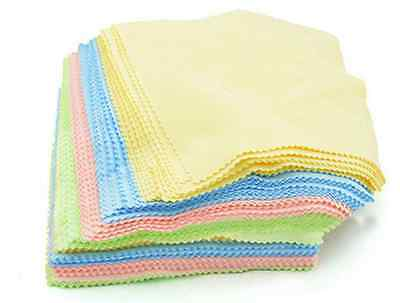 10x Microfiber Cleaner Phone Screen Camera Lens Glasses Cleaning Cloths Wipe un