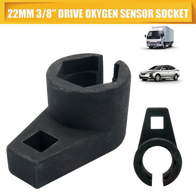"Oxygen O2 Sensor Socket Tool Offset 22mm 3/8"" Drive New Engine Wrench 7/8"" Hex"