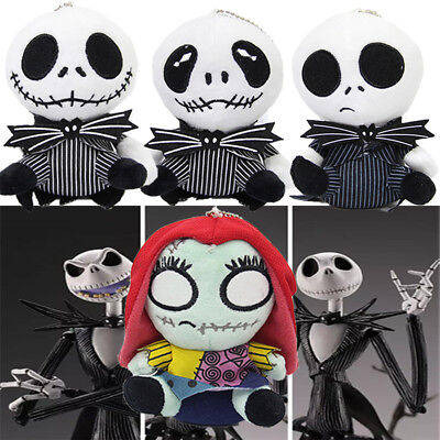 The Nightmare Before Christmas Jack Sally Skellington Toy Plush Doll Xmas Gifts