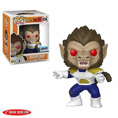 Funko - POP Dragon Ball Z  GREAT APE VEGETA NYCC Limited Edition Exclusive a 434