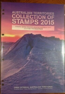 2015 Australian Territories Complete Collection of Stamps
