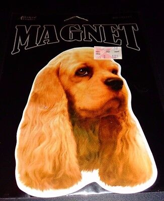 Advanced Graphic Cocker Spaniel Magnet 724416103352 Made in USA