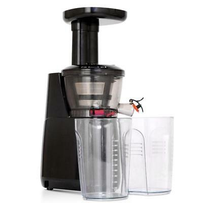 5 Star Chef High Yield Cold Press Slow Juicer - Black