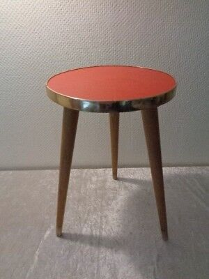 Alter Hocker / Blumenhocker - um 1960 - Vintage - Rockabilly