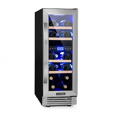 Wine refrigerator drinks Cooler 53 l 17 bottles Glass LCD Touch display Kitchen