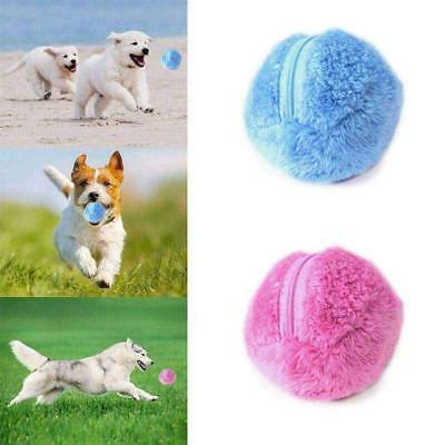 NEW Pet Puppy Magic Roller Ball Toy Dog Cat Electric Toy Ball Good Playmate AU