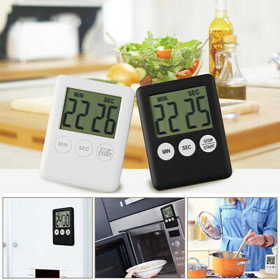 Magnetic Kitchen Timer Stopwatch Egg Timer Alarm Cooking Timer Countdown Clock