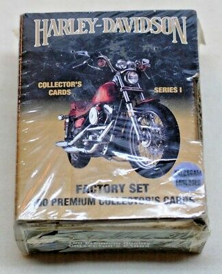 Harley-Davidson Collector Cards Series One Factory Set 100 Premium Hologram NEW