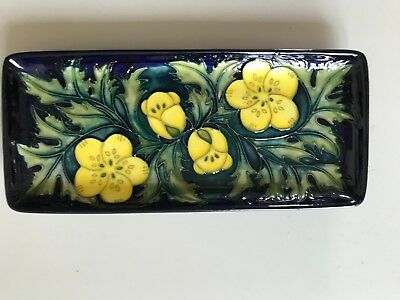 Moorcroft Buttercup Small Tray - Unboxed