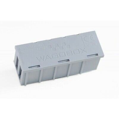 Wagobox Junction Box in GREY for use with Wago 773 and 222 terminals PACK of 1