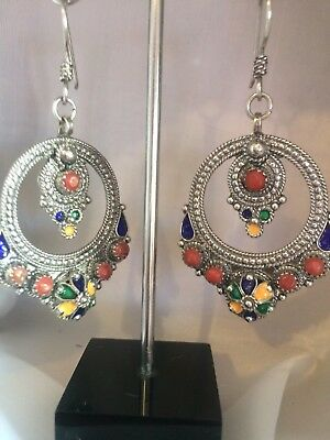 Bijoux Kabyle ( Jewelry Kabyle North Afrique) Silver And Coral