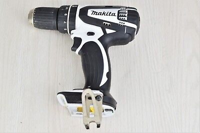 Makita 18V Li-ion Combi Drill - White