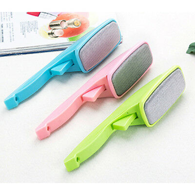 Clothes Dust Brush Lint Fluff Fabric Hair Remover Cleaner Home Cleaning Tool LH