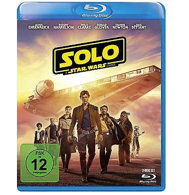 Blu-Ray Solo: A Star Wars Story -