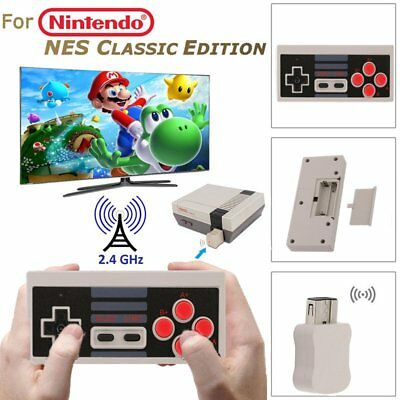 Rechargeable Wireless Controller Gamepad For Nintendo NES Classic Mini Console A