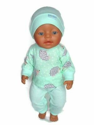 dolls clothes suits 43cm Baby Born doll or similar girls gift outfit