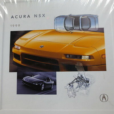 1999 Acura NSX sealed package of five  brochures