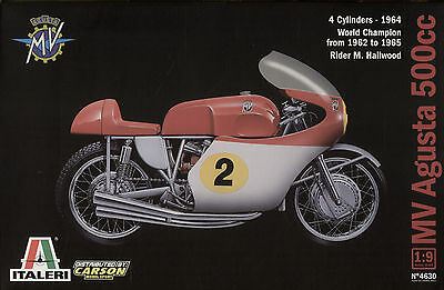 MV Augusta 500cc n°2 Mike Hailwood 1:9 Italeri 4630