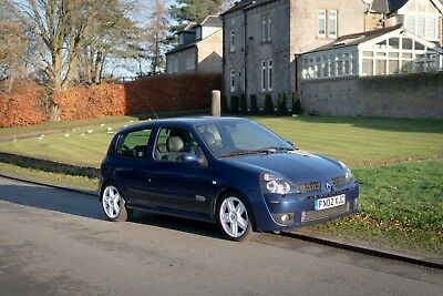 2002 Renault Clio 172, 66k miles, belts done recently.