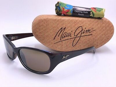 a9303ad083969 MAUI JIM KUIAHA BAY MJ286-26C Rootbeer Blue   HCL® Bronze POLARIZED  AUTHENTIC