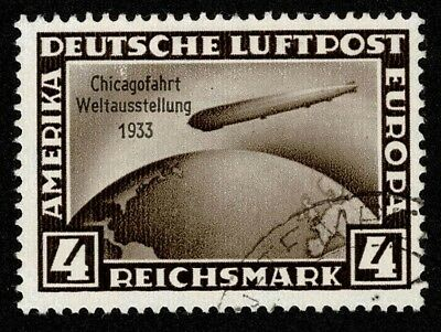 Germany Stamp Scott#C45 4m Air Mail Used Well Centered