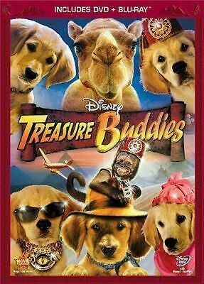 Treasure Buddies (DVD Combo Pack) [Blu-Ray+DVD] New and Sealed!!