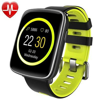 Montre connectée pour iPhone et Android,Willful SW018 Bluetooth vert clair sport
