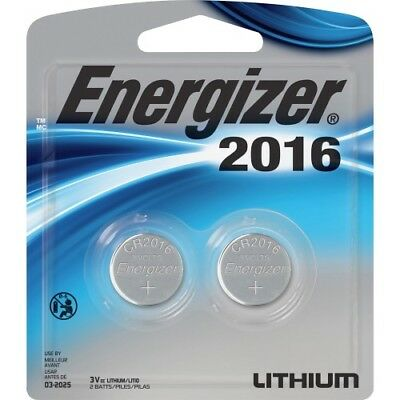 NEW 2016BP2 2016 3V Watch/Electronic Batteries Battery LITHIUM 2 PACK Energizer