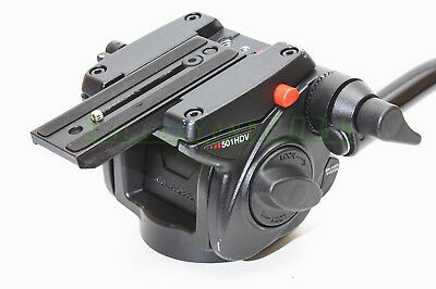 Manfrotto 501HDV Pro Video Fluid Head - Supports 13.2 lbs