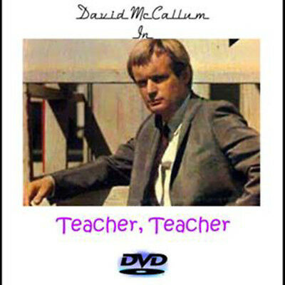 Teacher, Teacher DVD David McCallum Rare 1969 TV Movie