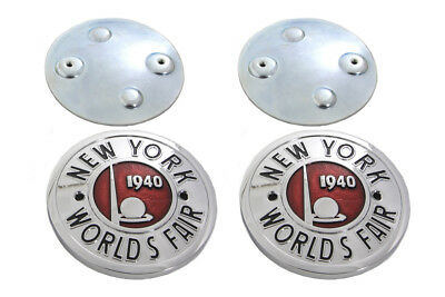 World's Fair Tank Emblem Set for All Models with Curved Tanks - Harley