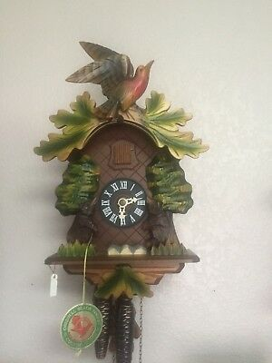 Cuckoo Clock 1 day with moving bears