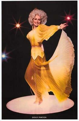 Dolly Parton Yellow Rose  Poster