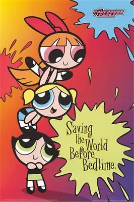Powerpuff Girls 2000 Cartoon Poster 24x36