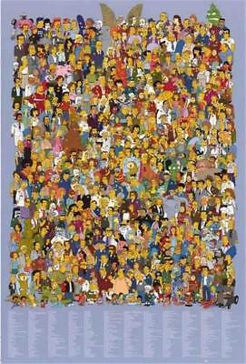 The Simpsons TV Show Cast 2011 Poster 24x36