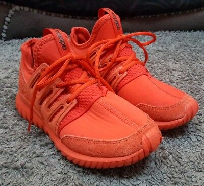 best loved 8f94d 071de ☆ EUC MENS Boys triple red Adidas Tubular Radial trainers size 5.5 ☆ -  £24.99 | PicClick UK