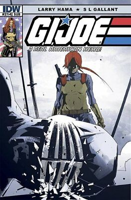 GI Joe A Real American Hero #214 SUB IDW VF