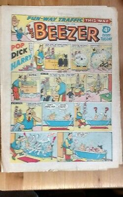 THE BEEZER COMIC, No 135 - August 16th 1958 : Good Condition