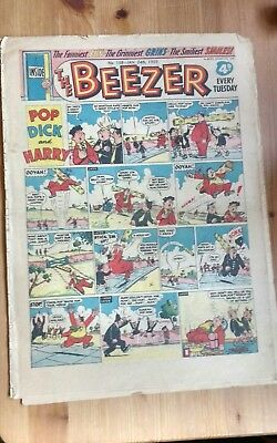 THE BEEZER COMIC, No 158 - January 24th 1959 : Good Condition