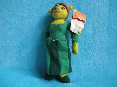 *TAGS* Play By Play 2004 Shrek 2 - Princess Fiona Ogre Doll Soft Plush Toy 10""