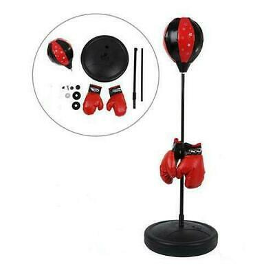 Kids Free Standing Adjustable Boxing Punching Ball Gloves Sport Xmas Toy Gift