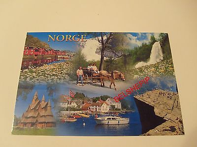 Norway (Norge), Postcard. Horse