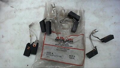 Lot Of 4--Helwig Carbon 10-876231 Dc Motor Brushes