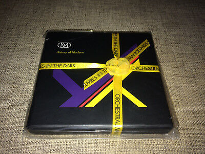 Omd - History Of Modern - Limited Cd+Dvd Set + Club Remixes Ep  No Promo  Sealed