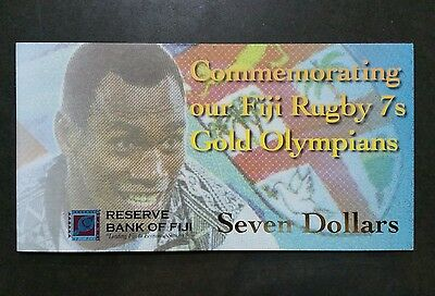 2017 Fiji Seven Dollar Note - Collectors Edition